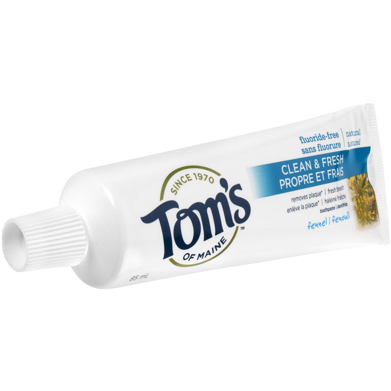 Fennel Fluoride-Free Toothpaste 85ml
