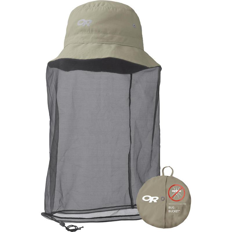 Chapeau moustiquaire Bug Bucket Kaki