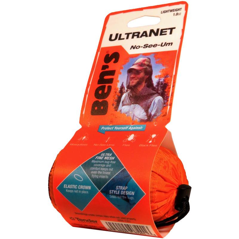 Filet antimoustiques pour la tête UltraNet Noir
