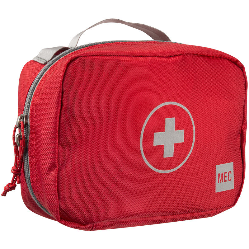First Aid Bag Safety Red