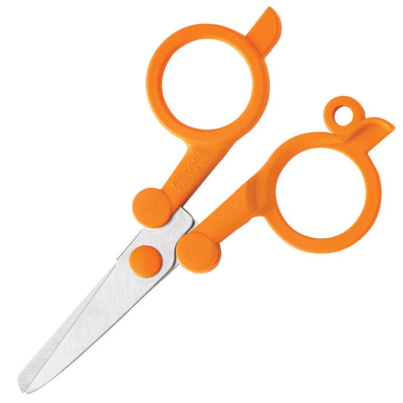 Folding Scissors Orange