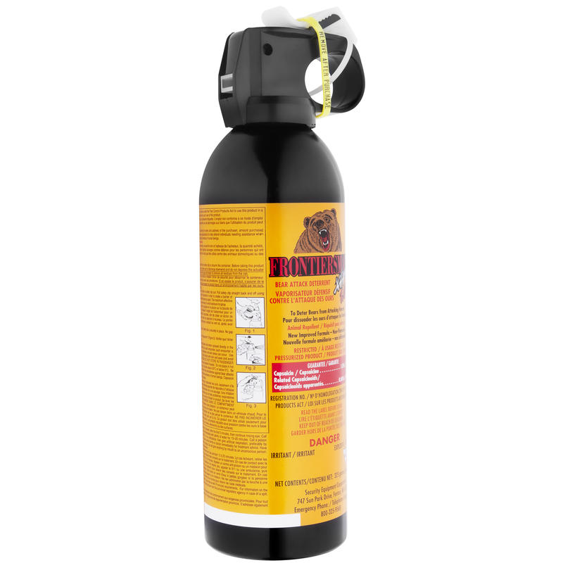 Bear Protection With Frontiersman Bear Spray: Frontiersman Bear Spray 1% 325g Canister