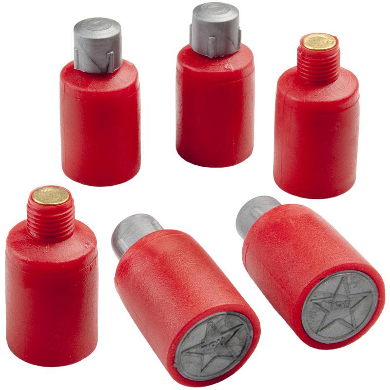 Fusées éclairantes rouges (paquet de 6)