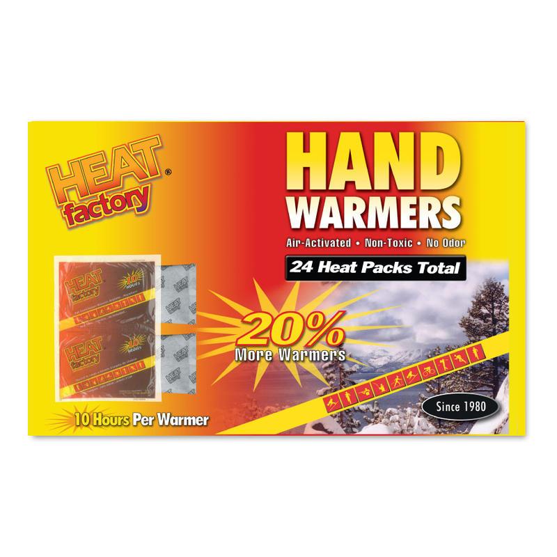 Chauffe-mains (paquet de 24)