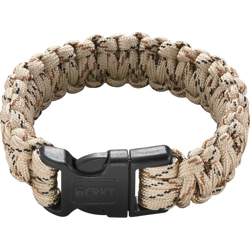Bracelet de survie Para-Saw Brun roux