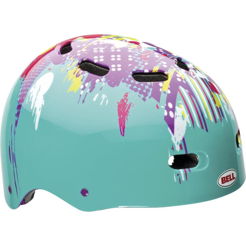 Bike Candy Helmet Teal Mismatch