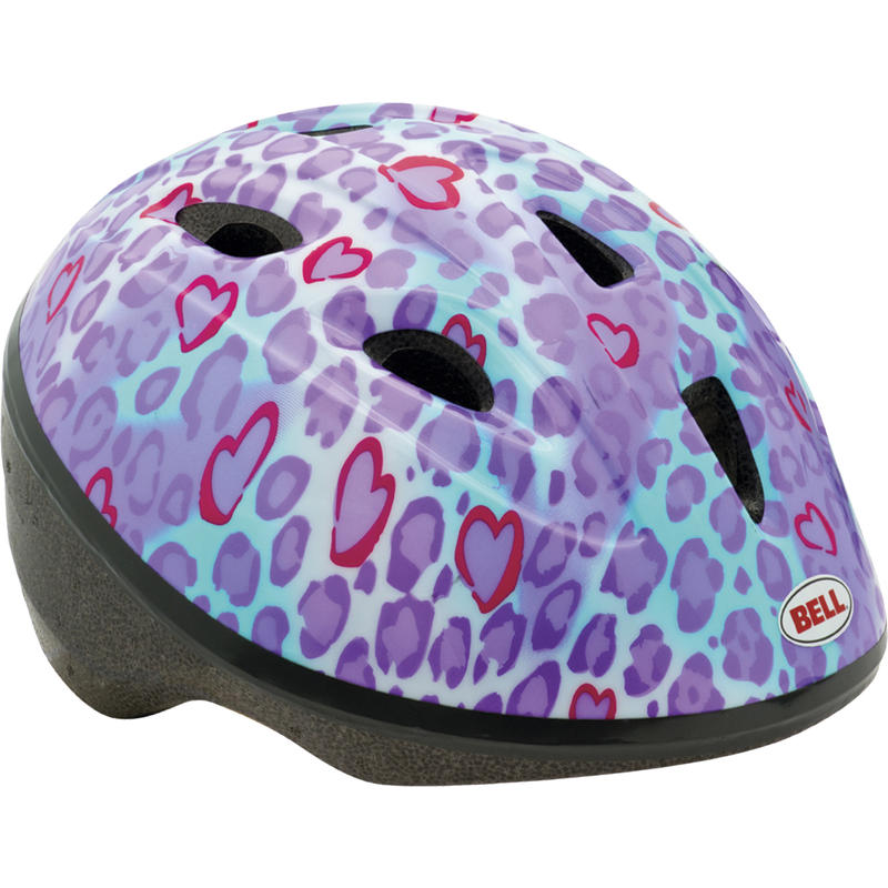 Sprout Helmet Cheetah Chase Purple