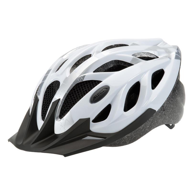 Tour 3 Mountain Bike Helmet White/Silver