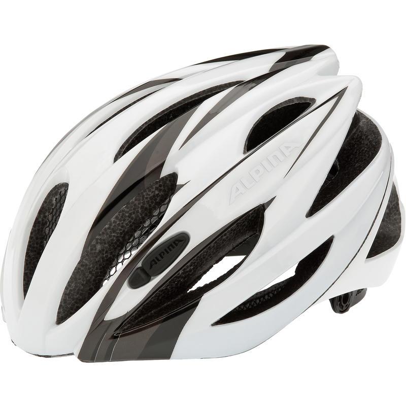 Casque de vélo de route Cybric Blanc/Noir