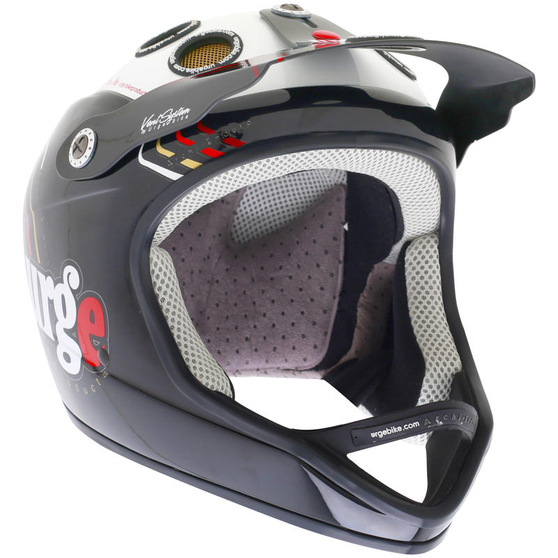 Archi-Enduro Cycling Helmet Airlines Black/White