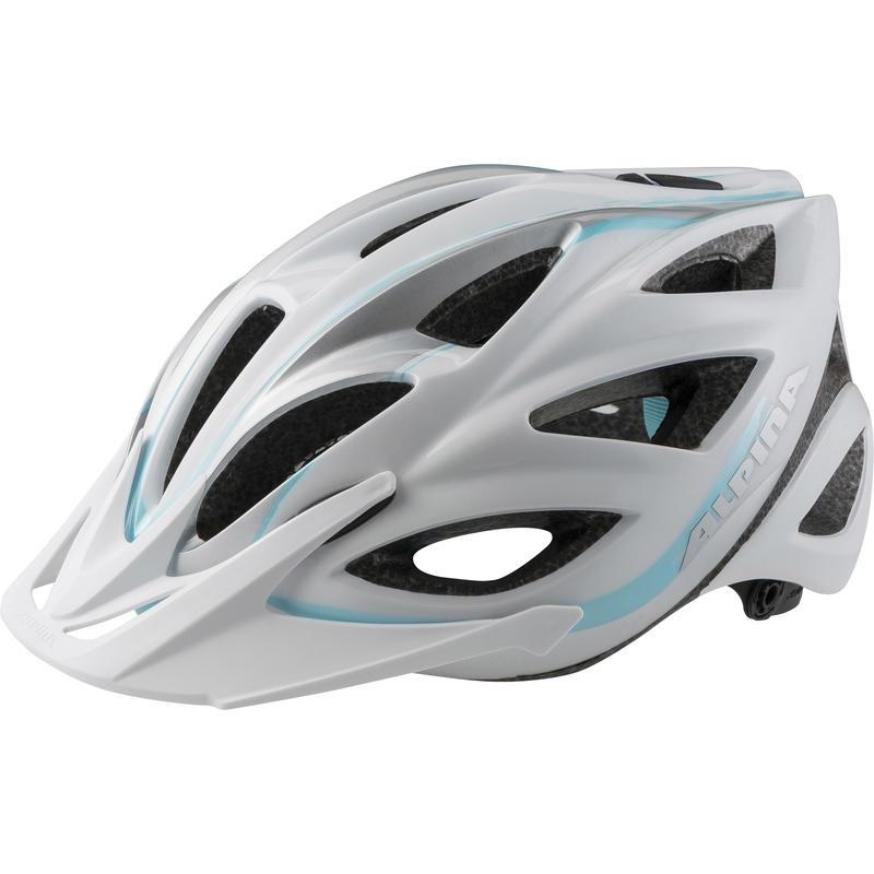 Casque de vélo Skid Blanc perle