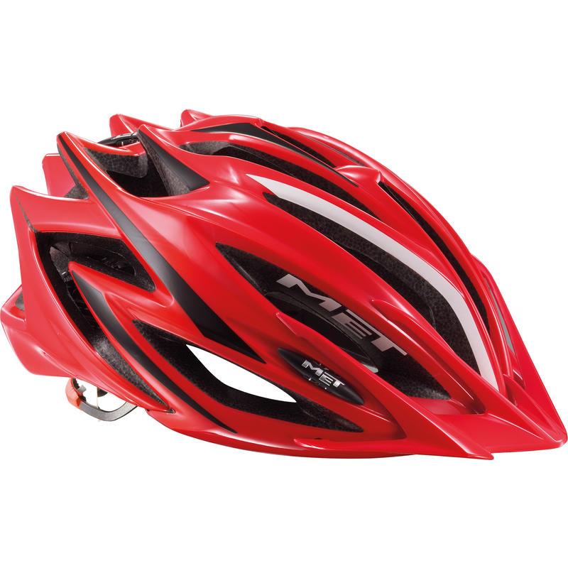 Casque de vélo Veleno Rouge/Noir