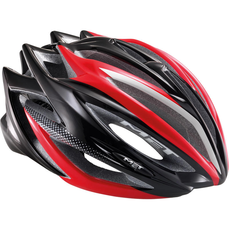 Casque de vélo Estro Rouge/Noir