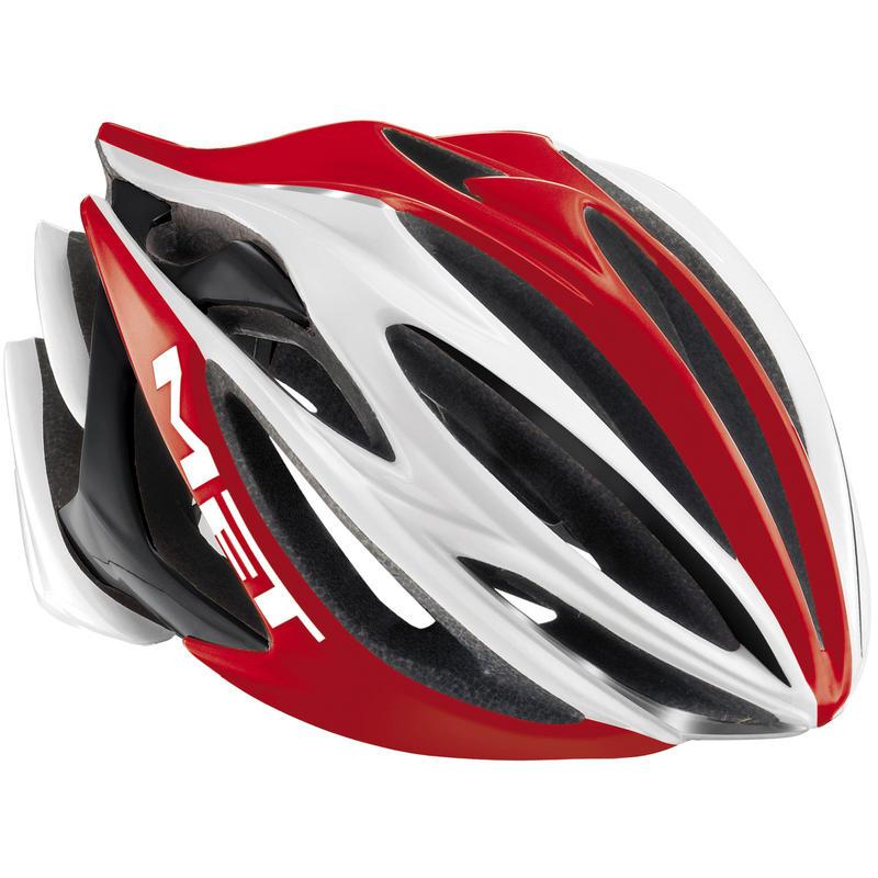 Stradivarius Bicycle Helmet Red/White