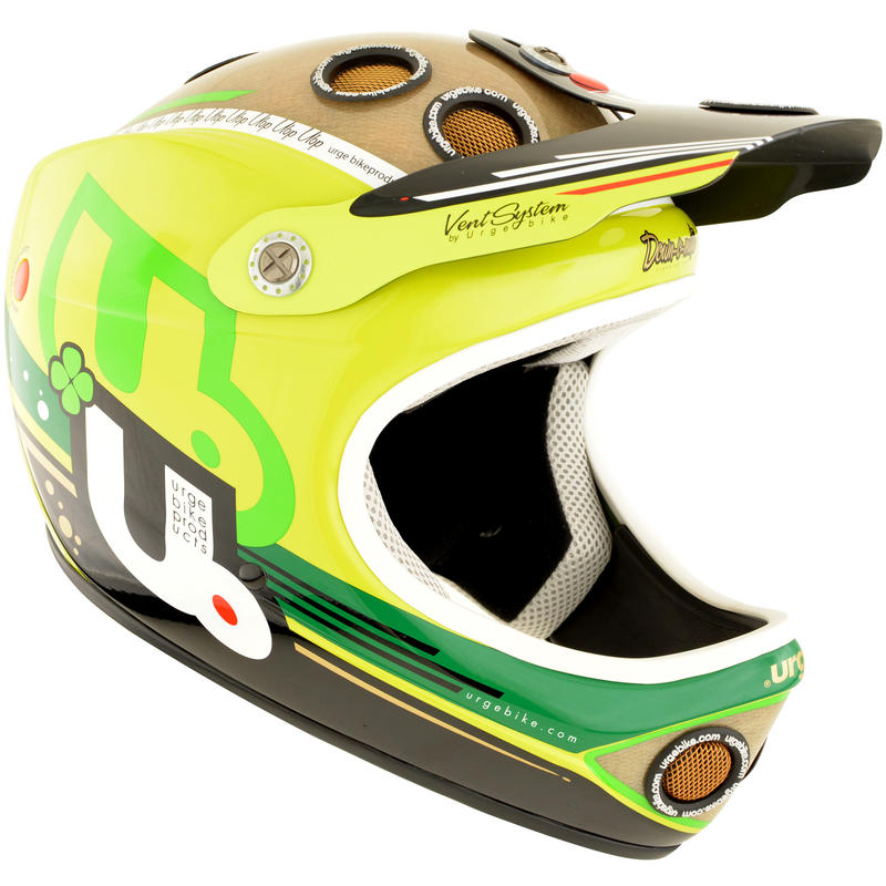 Down-O-Matic Veggie Cycling Helmet Lime