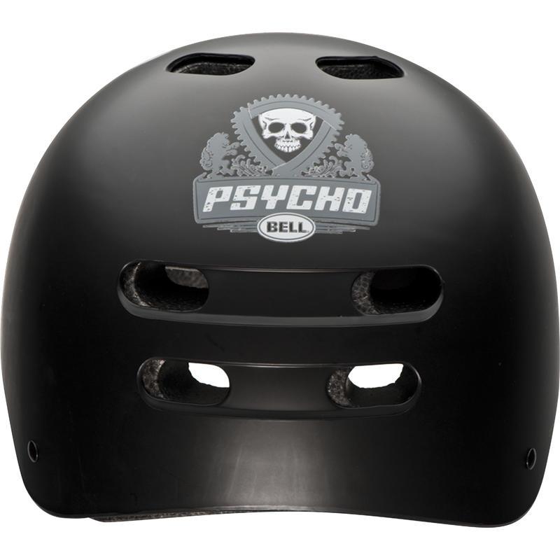 Casque de vélo Maniac Psycho Noir mat