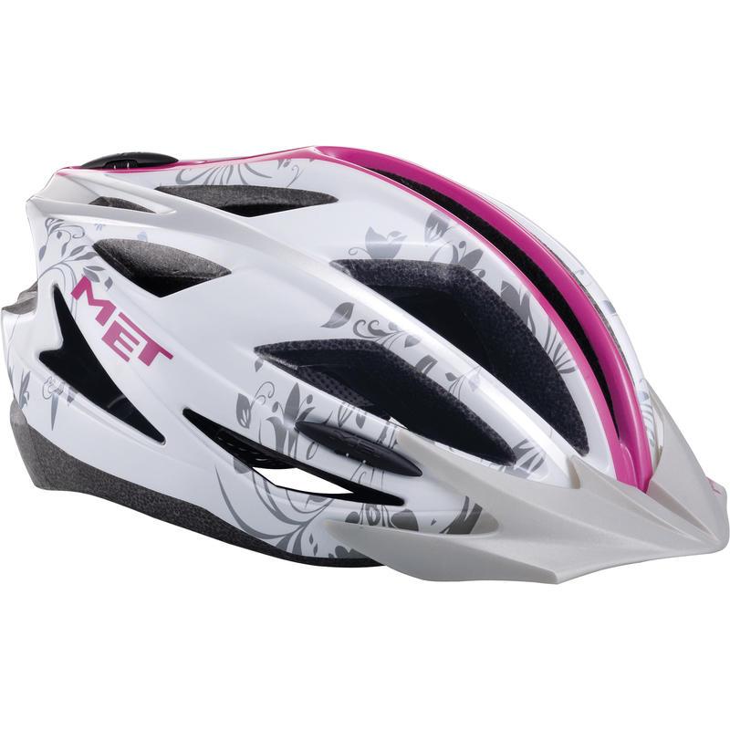 Pilgrim Helmet White/Pink