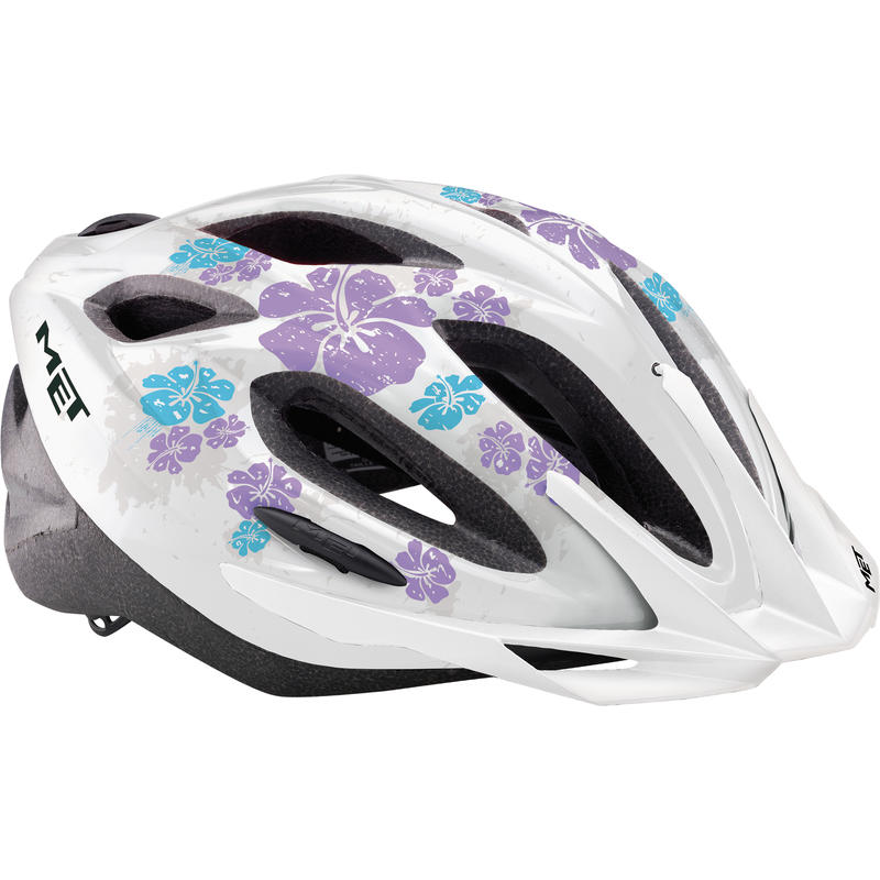 Xilo Helmet White Flowers