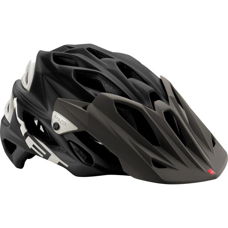 Casque de vélo Parabellum Noir mat/Blanc