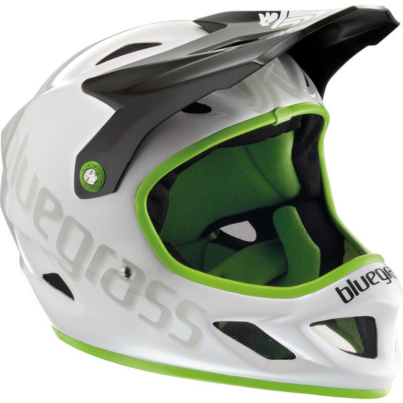 Casque de vélo intégral Explicit Blanc/Vert