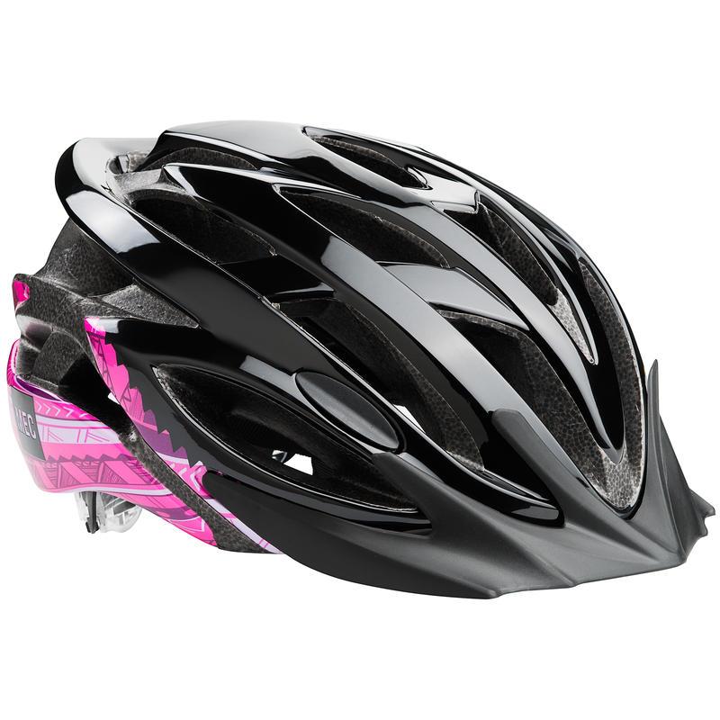 Adanac Cycling Helmet Black/Pink