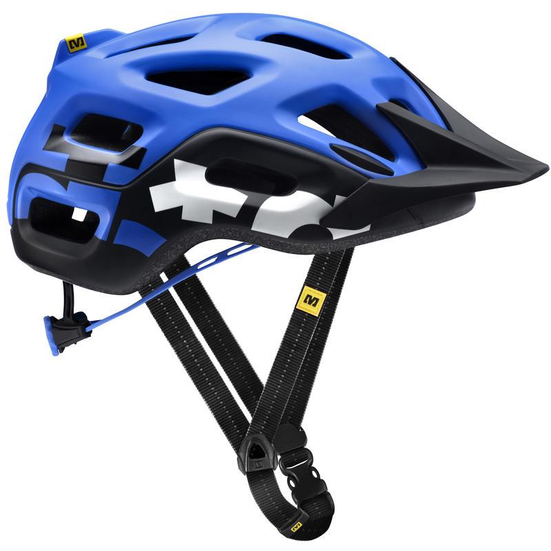 Notch Cycling Helmet Blue/Black