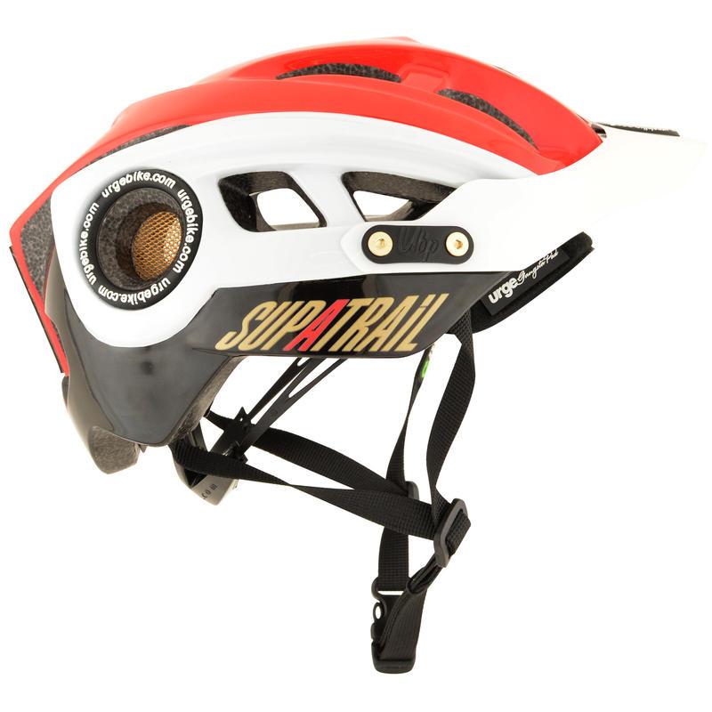 Supatrail Cycling Helmet Black/Red