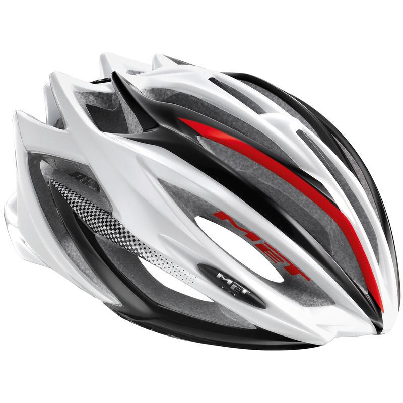 Casque de vélo Estro Blanc/Noir