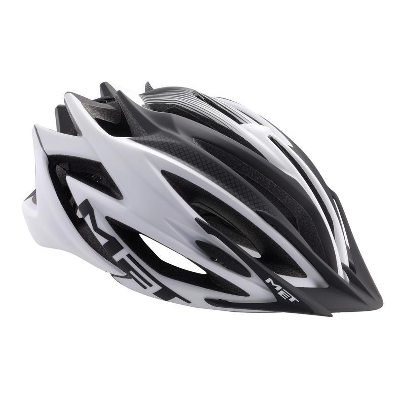Casque de vélo Veleno Blanc mat/Noir