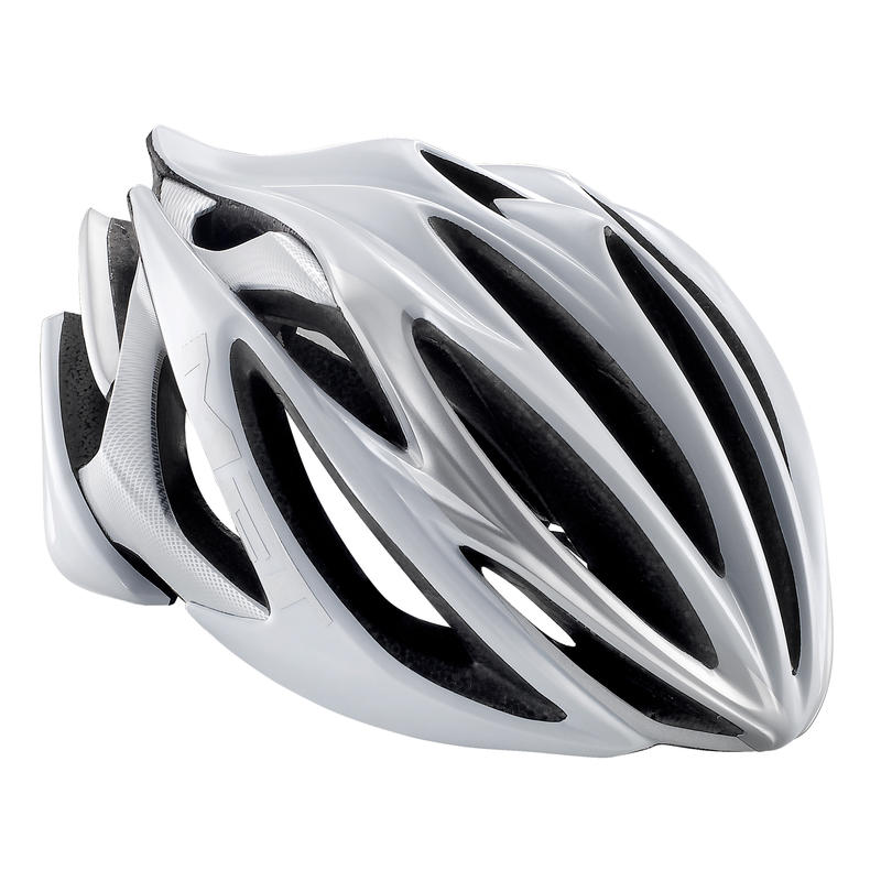 Stradivarius Bicycle Helmet White/Silver