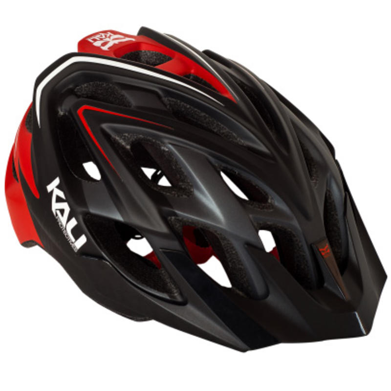 Casque de vélo Chakra Plus Noir/Rouge
