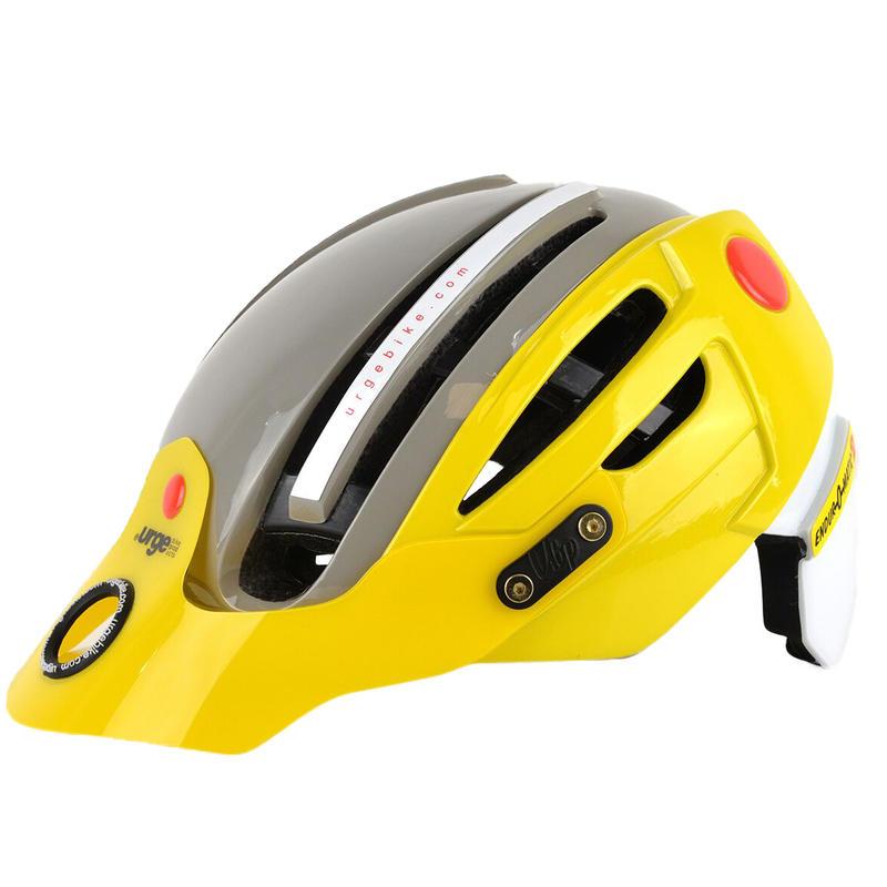 Casque de vélo Endur-O-Matic 2 Jaune/Gris