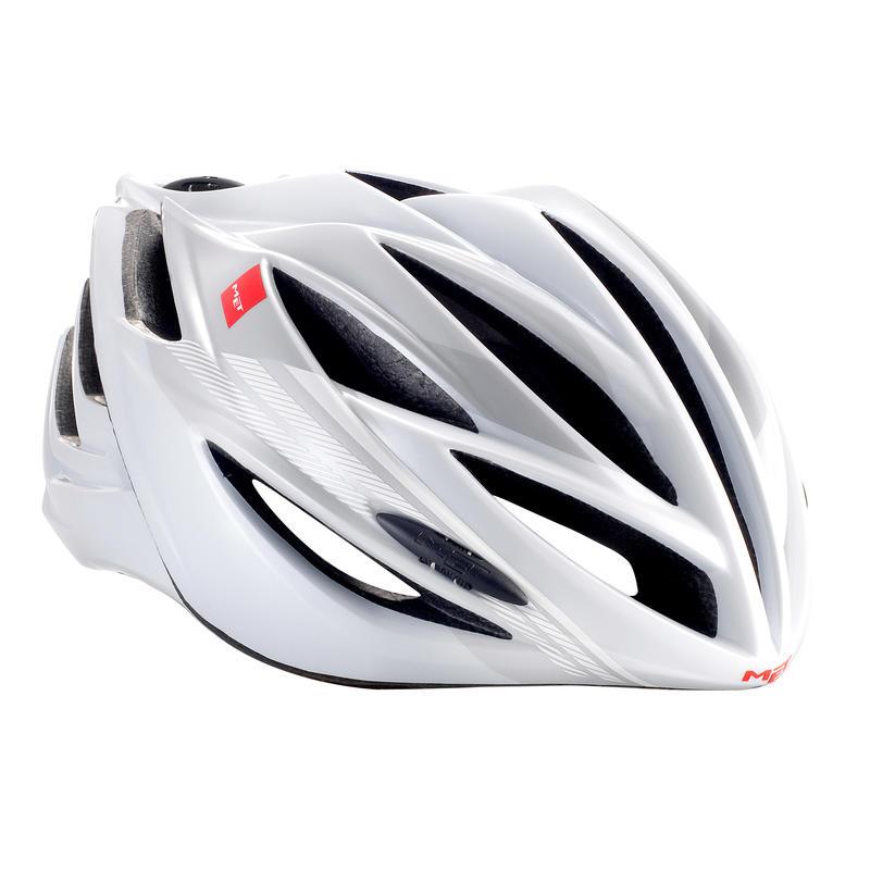 Casque de vélo Forte Blanc/Argent