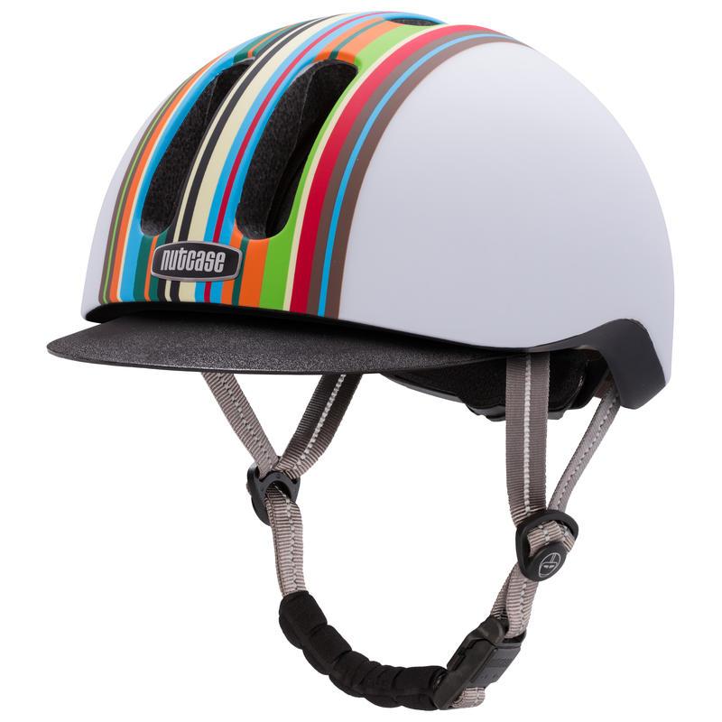 Casque de vélo Metroride Technicolor mat