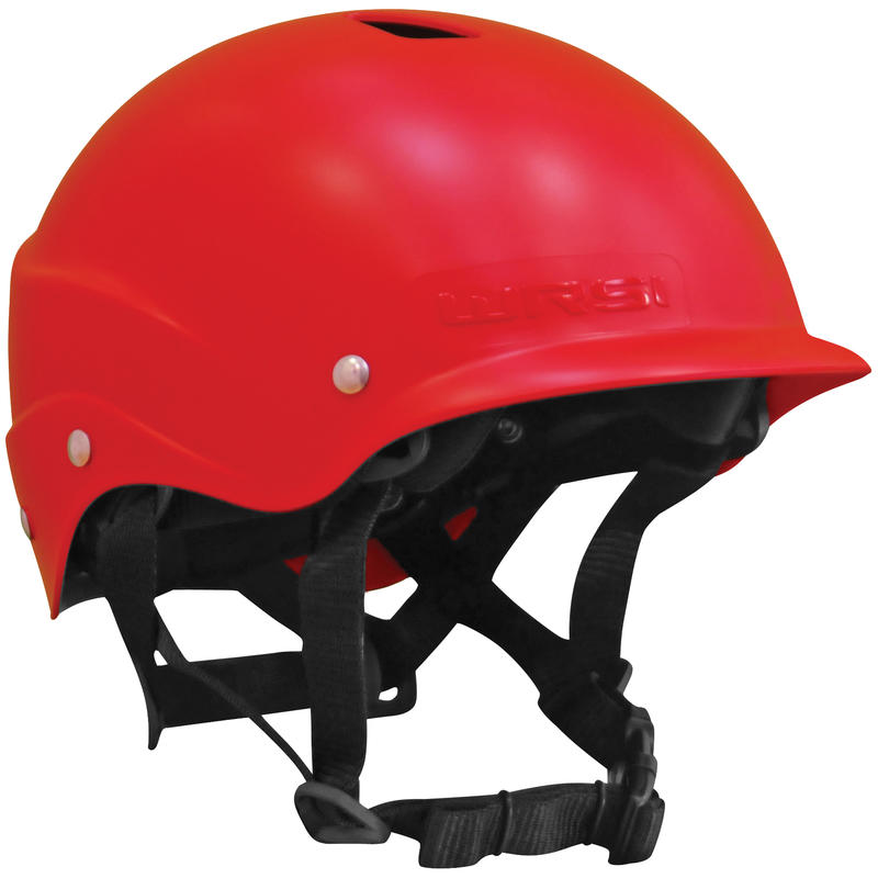 Current Helmet w/Vents S Red