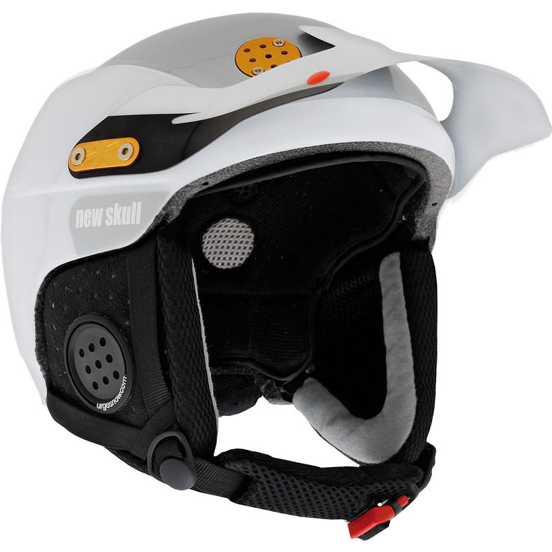 Casque de ski New Skull Blanc