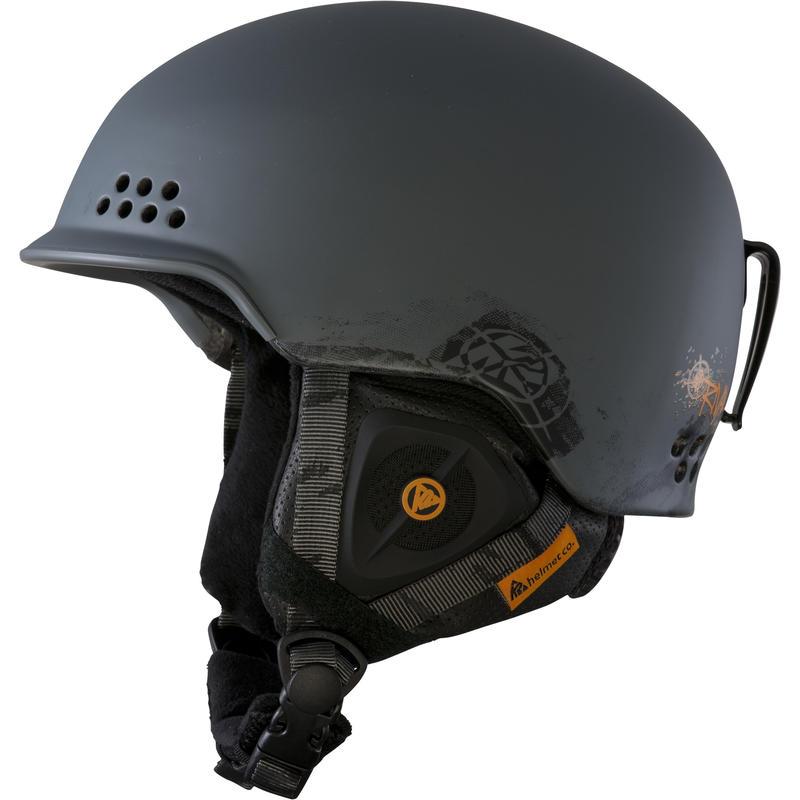 Rival Pro Ski Helmet Factory Grey