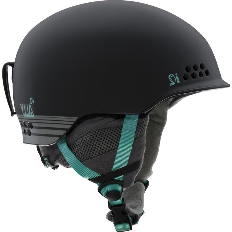 Ally Pro Snow Helmet Black/Black