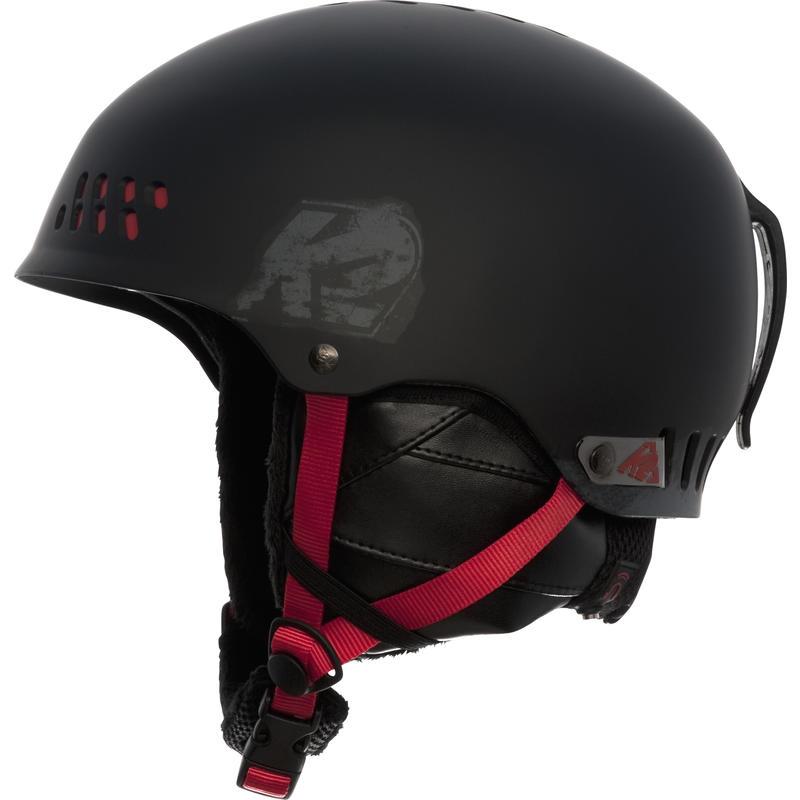 Phase Snow Helmet Black/Red