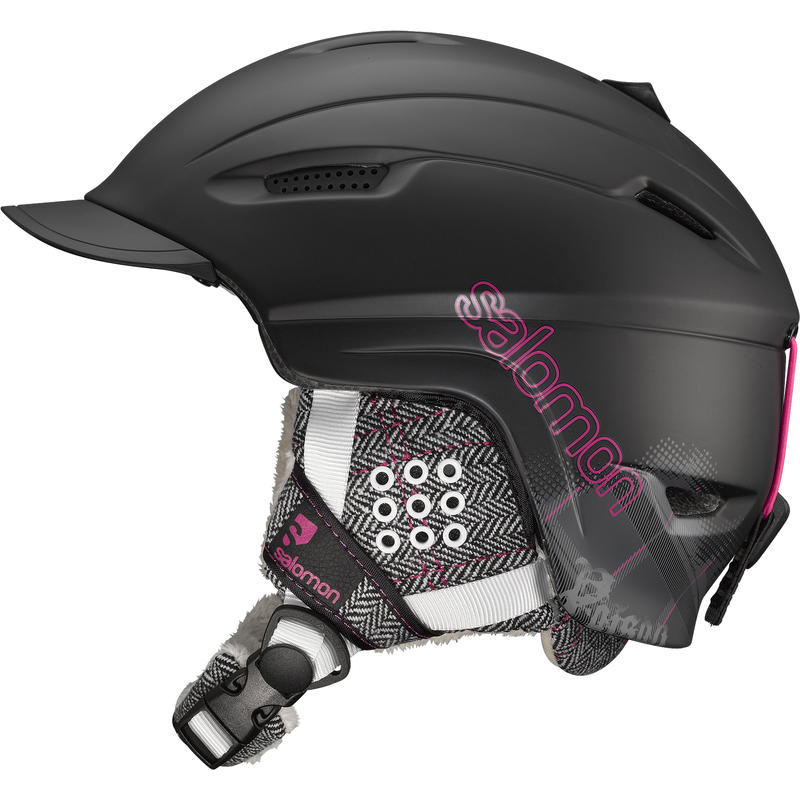 Poison Snow Helmet Matte Black