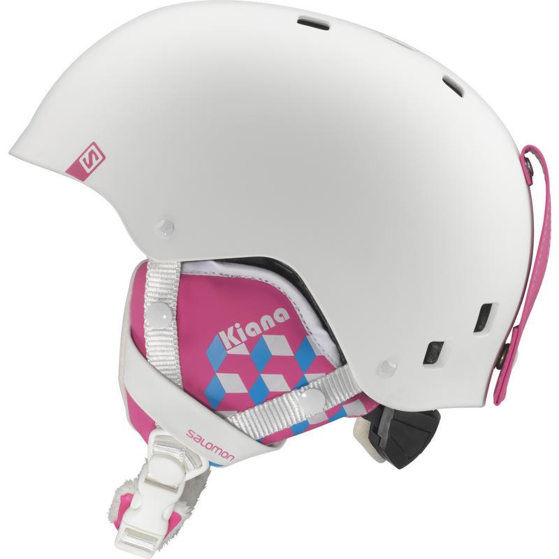Casque de ski Kiana Jr Blanc mat