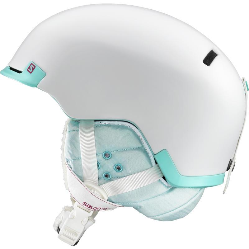 Shiva Snow Helmet Matte White/Green