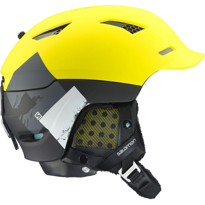 Prophet Custom Air Snow Helmet Matte Yellow