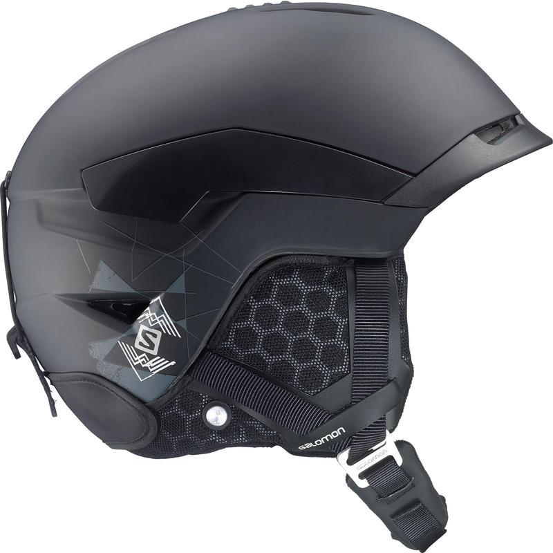 Quest Snow Helmet Matte Black