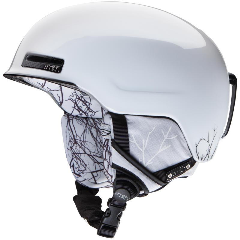 Casque de ski Allure Ramifications blanches