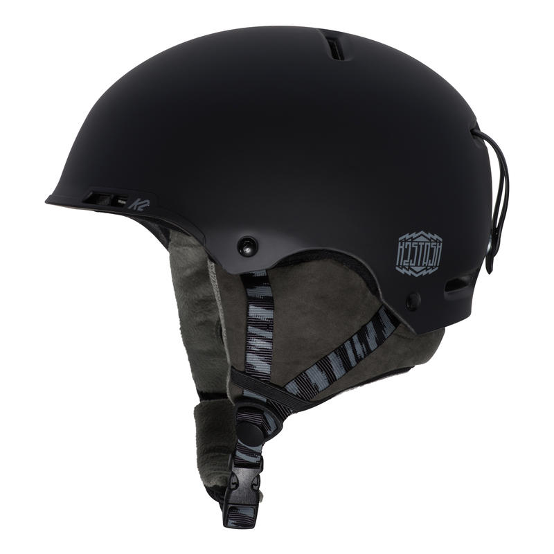 Stash Snow Helmet Black