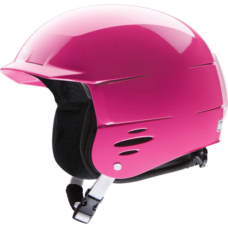 Upstart Jr Snow Helmet Bright Pink