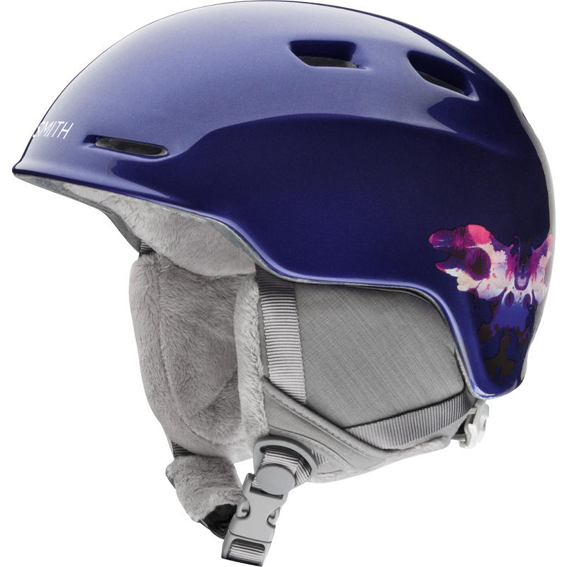 Zoom Jr Snow Helmet Ultraviolet Inkblot
