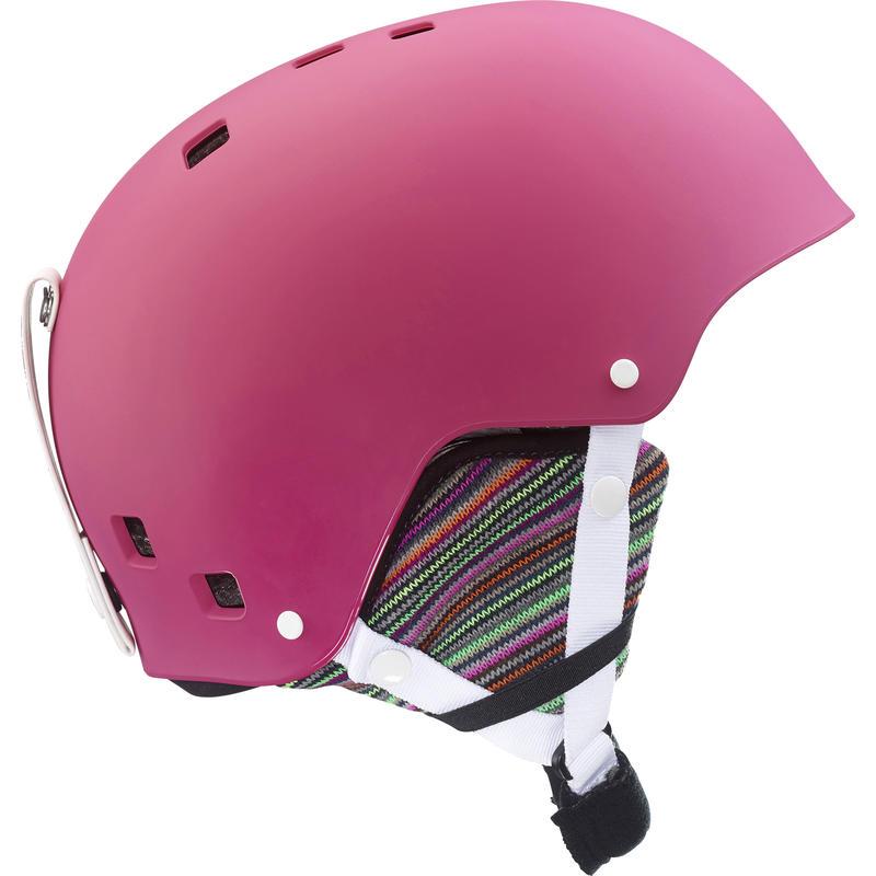Kiana Jr Snow Helmet Hot Pink