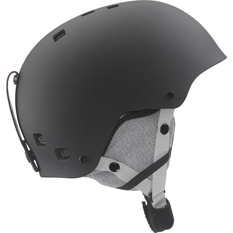 Jib Jr Snow Helmet Matte Black
